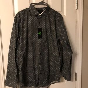 Bristol & Bull Polka Dot Shirt Brand New